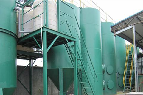 宁波甬赢智能设备酸洗磷化废水处理工程